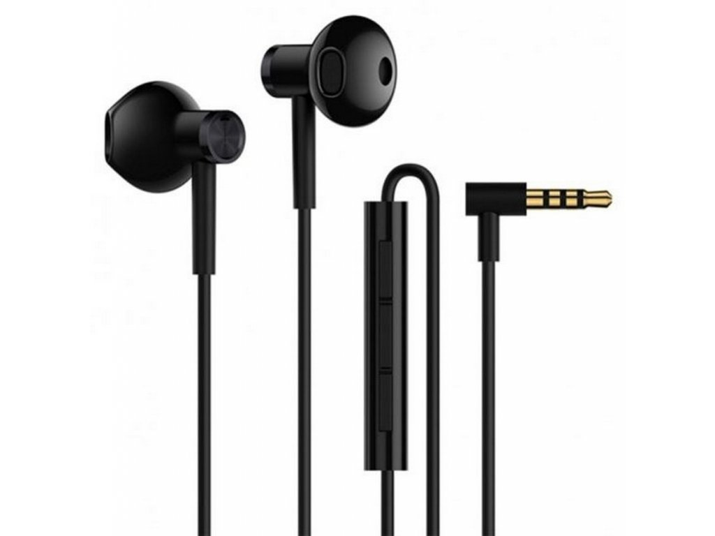 Xiaomi Mi Dual Driver Earphones 3,5mm, Black