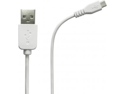 Azuri data kabel 2m USB A/micro USB, White