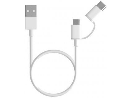 Xiaomi Mi 2 in 1 USB Cable Micro USB/Type C 30cm