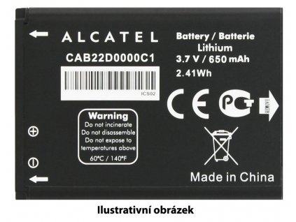 ALCATEL Baterie 2.000mAh Li-Ion Alcatel U5 4047D