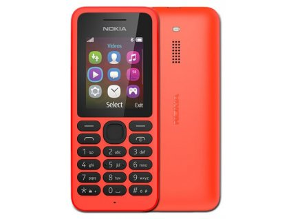 NOKIA 130 DS Bright Red