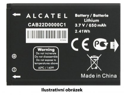 ALCATEL ONETOUCH Baterie 2.000mAh 6036Y Idol2 Mini