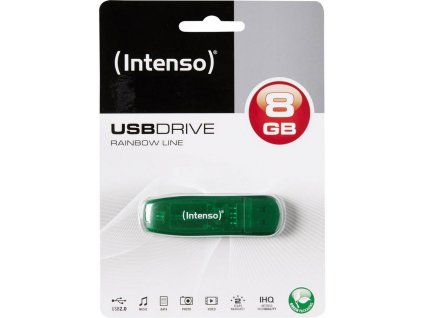 Intenso USB 8GB Rainbow 2.0