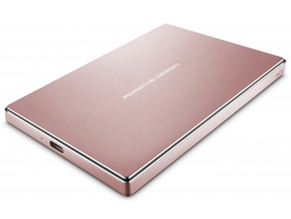 LaCie ext.disk 2TB Porsche Design USB-C Rose Gold