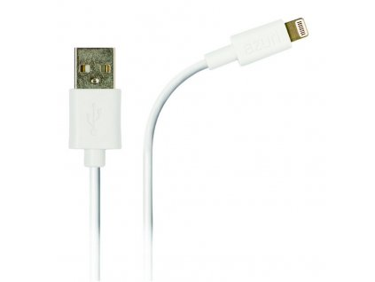 Azuri data kabel 1m USB A/Apple Lighting, White