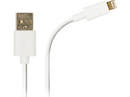 Azuri data kabel 2m USB A/Apple Lighting, White