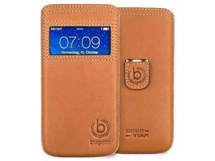 Bugatti Watch! Window Case iPhone 6 Plus 5.5,Brown