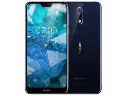 Nokia 7.1 DS 64 GB Midnight Blue