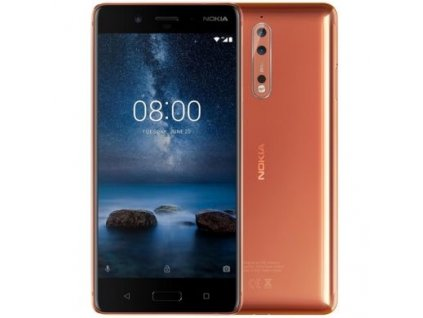 Nokia 8 DS Polished Copper