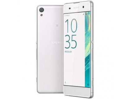 sony xperia x compact white 3d model max obj 3ds fbx wrl wrz
