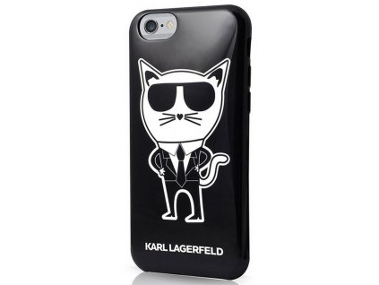 Karl Lagerfeld K-Team TPU iPhone 6/6S, Black