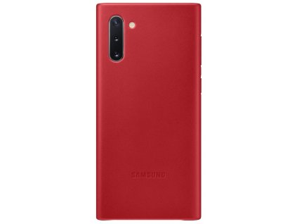 Samsung EF-VN970LR Leather Cover Note10, Red