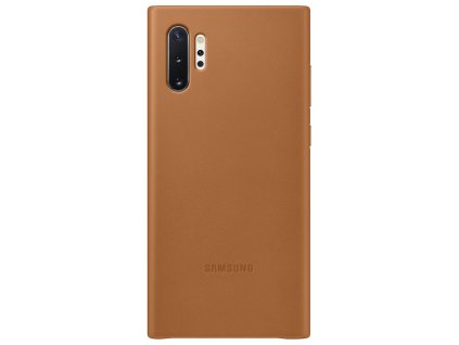 Samsung EF-VN975LA Leather Cover Note10+, Camel