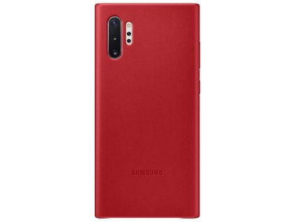 Samsung EF-VN975LR Leather Cover Note10+, Red