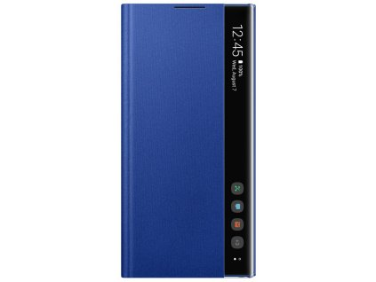 Samsung EF-ZN975CL Clear View Cover Note10+, Blue