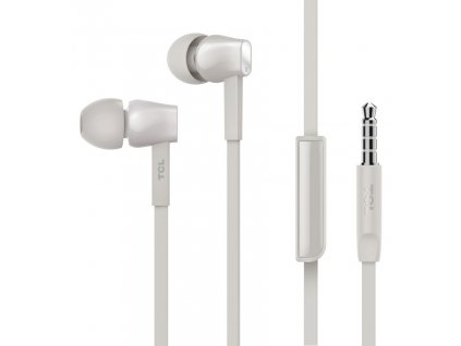 TCL MTRO100 stereo sluchátka In-Ear 3,5mm, White