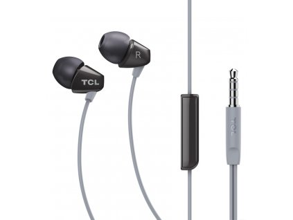 TCL SOCL100 stereo sluchátka In-Ear 3,5mm, Black
