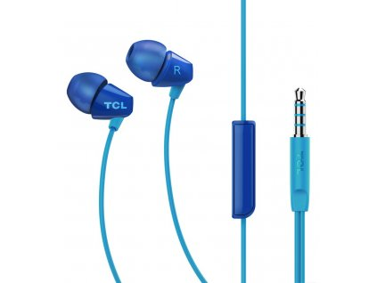 TCL SOCL100 stereo sluchátka In-Ear 3,5mm, Blue