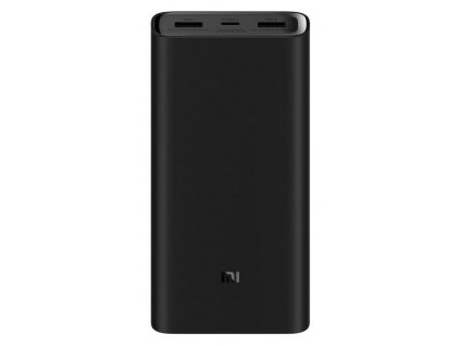Xiaomi PowerBank Pro 3, USB-C, 20.000mAh, Black
