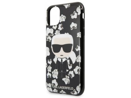 Karl Lagerfeld TPU Flower Case iPhone 11 Pro Max