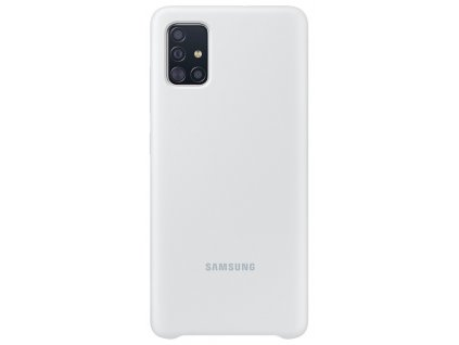 Samsung EF-PA515TW Silicone Cover Galaxy A51,White