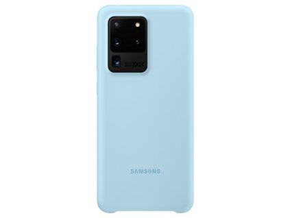 Samsung EF-PG988TL SiliconeCover S20 Ultra, Blue