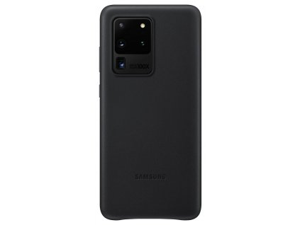 Samsung EF-VG988LB Leather Cover S20 Ultra, Black