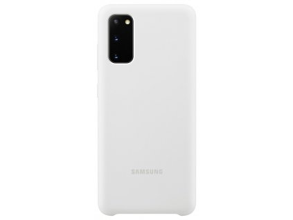 Samsung EF-PG980TW SiliconeCover Galaxy S20, White