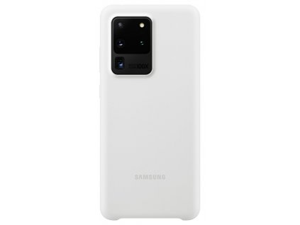 Samsung EF-PG988TW SiliconeCover S20 Ultra, White