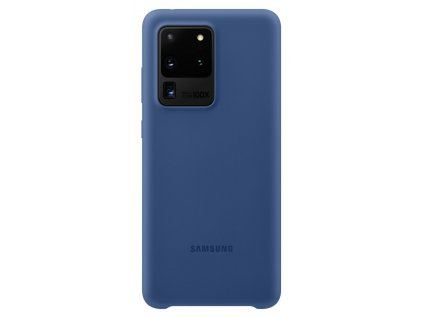 Samsung EF-PG988TN SiliconeCover S20 Ultra, Navy