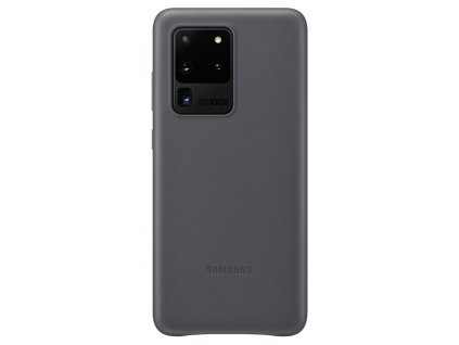 Samsung EF-VG988LJ Leather Cover S20 Ultra, Gray