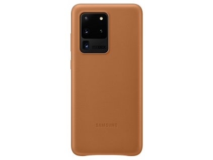 Samsung EF-VG988LA Leather Cover S20 Ultra, Brown