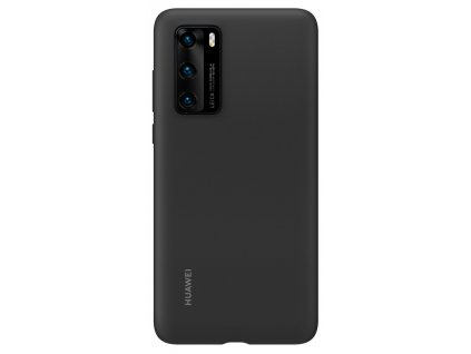 Huawei P40 Silicone Case Black