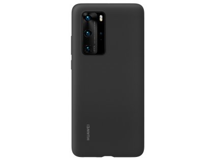 Huawei P40 Pro Silicone Case Black