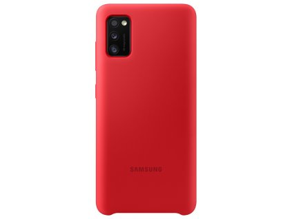 Samsung EF-PA415TR Silicone Cover Galaxy A41, Red
