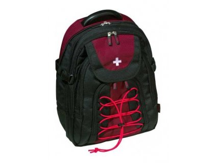 STP Swiss Line Davos Back Pack Red/Black