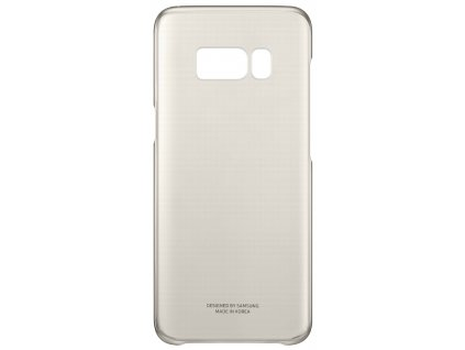 Samsung EF-QG955CF Clear Cover Galaxy S8+, Gold