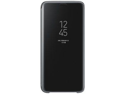 Samsung EF-ZG960CB Flip Clear View Galaxy S9,Black