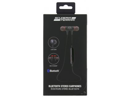 Ferrari Training Bluetooth stereo sluchátka, Black
