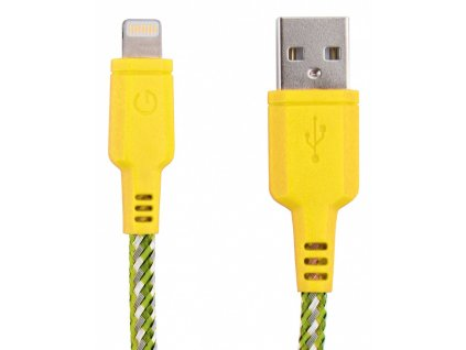 Energea NyloTouch lightning Cable 1.5m Yellow