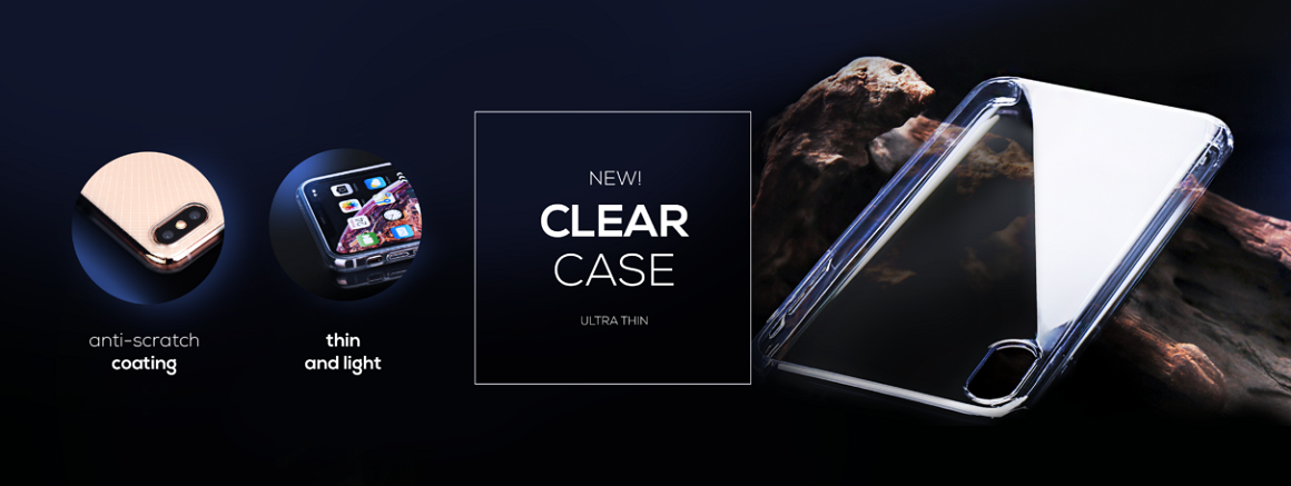 Forcell Clear Case