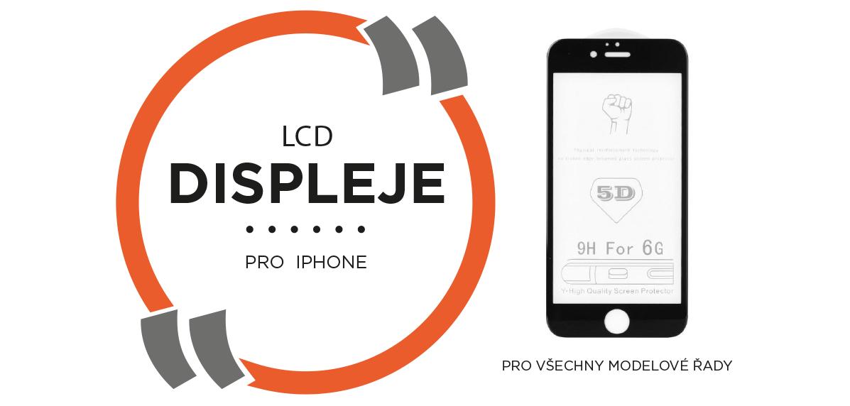 LCD displeje pro iPhone