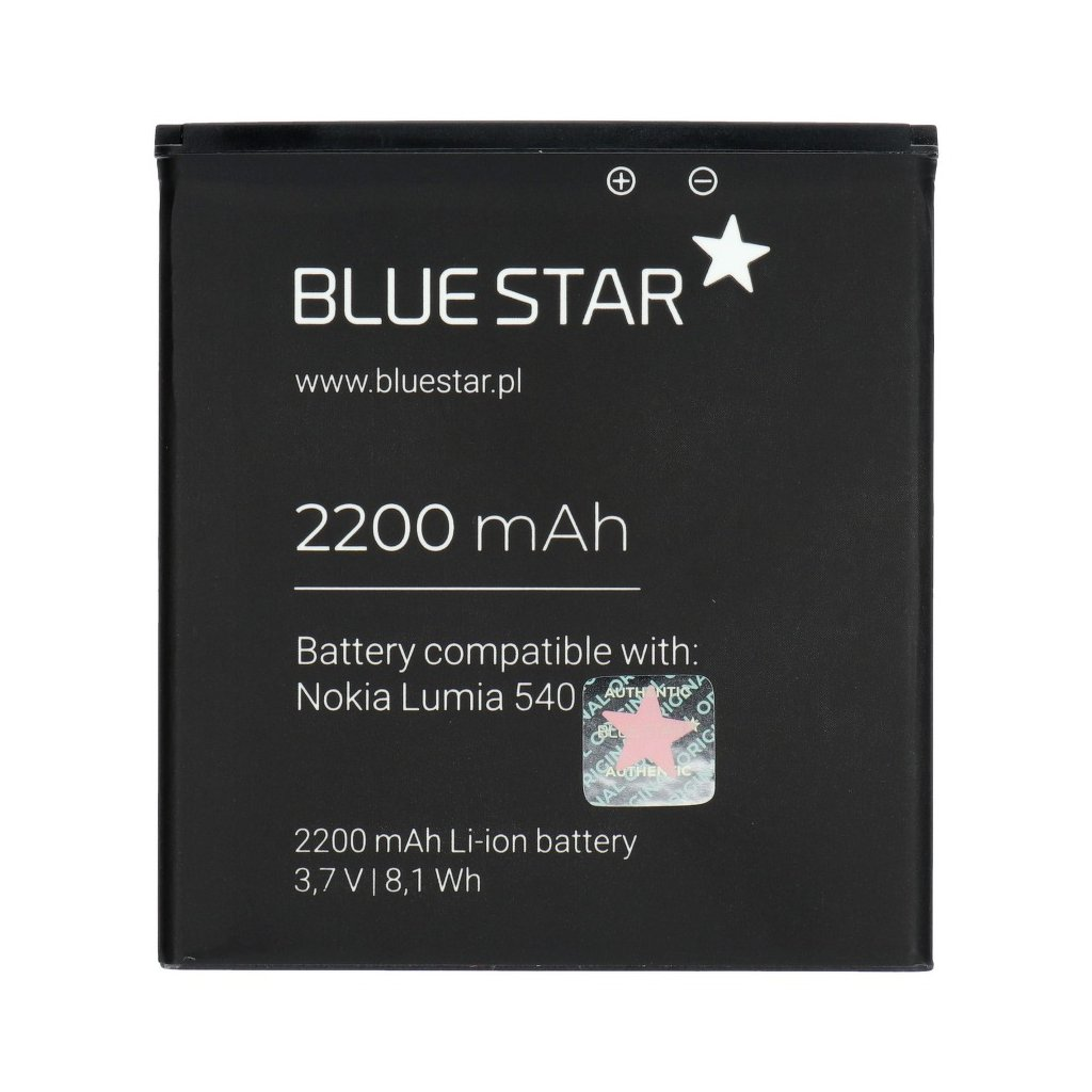 72020 1 baterie 2200 mah li ion blue star premium pro nokia lumia 540 830
