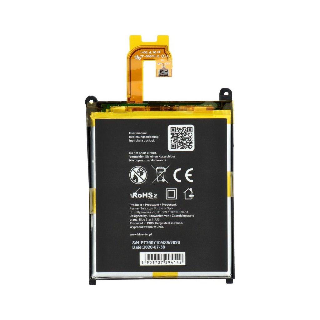 361 2 baterie blue star sony xperia z2 d6503 3200mah li poly v premium
