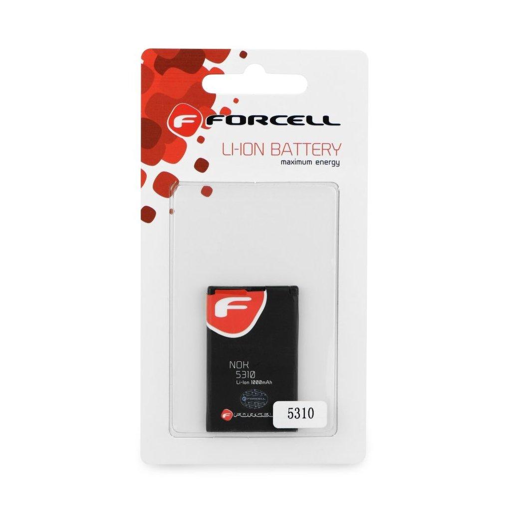 715 1 baterie forcell maximum energy pro nokia 5310 xpress music 7210s 7310s 1000 mah li ion hq