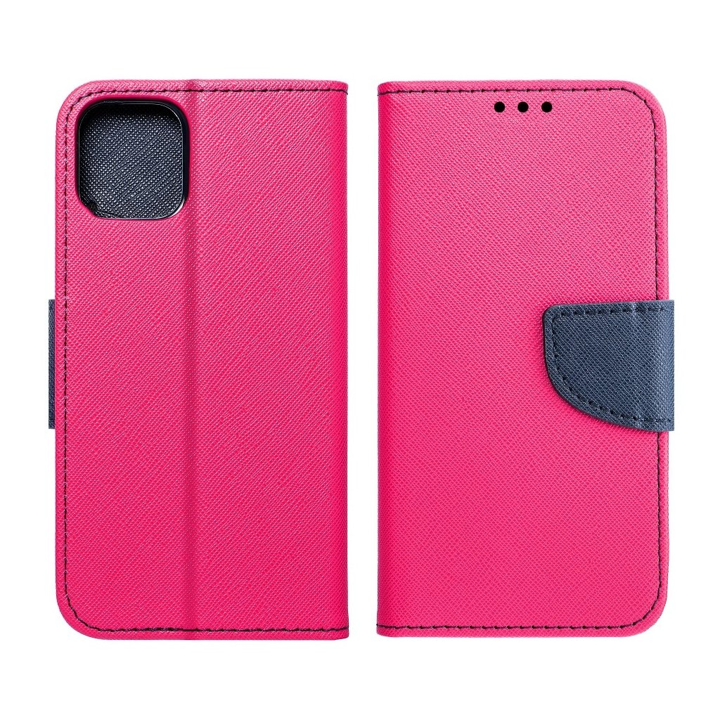 25528 fancy pouzdro book apple iphone 5 5s modro ruzove