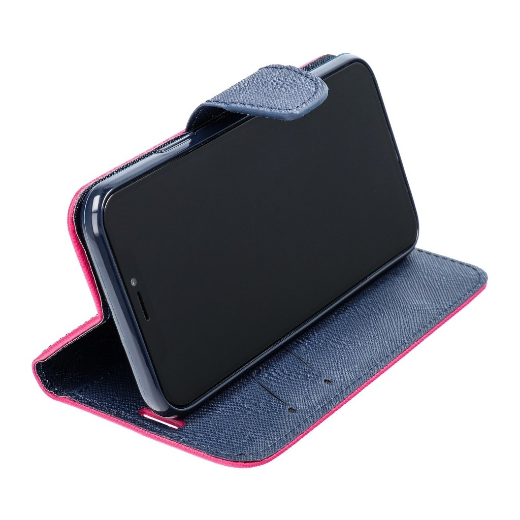25528 2 fancy pouzdro book apple iphone 5 5s modro ruzove