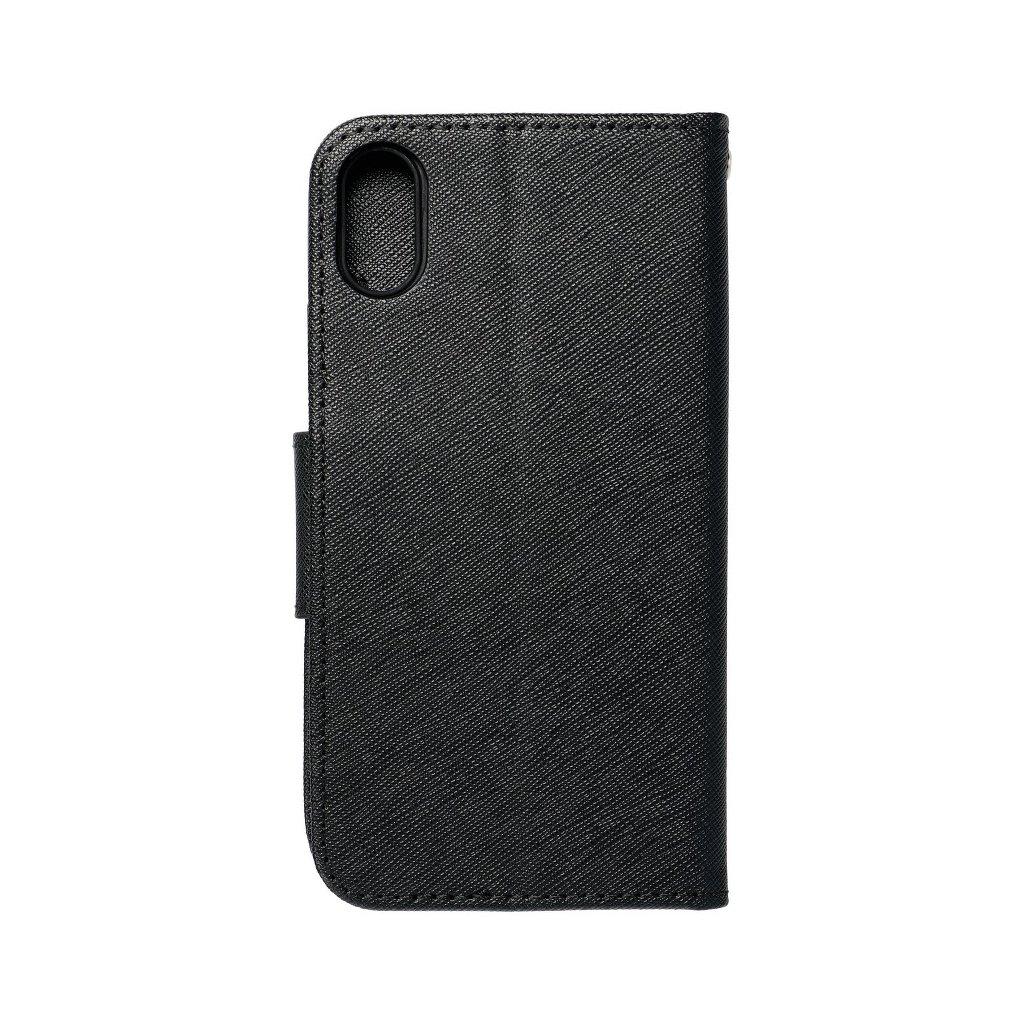 68472 1 fancy pouzdro book apple iphone x cerne