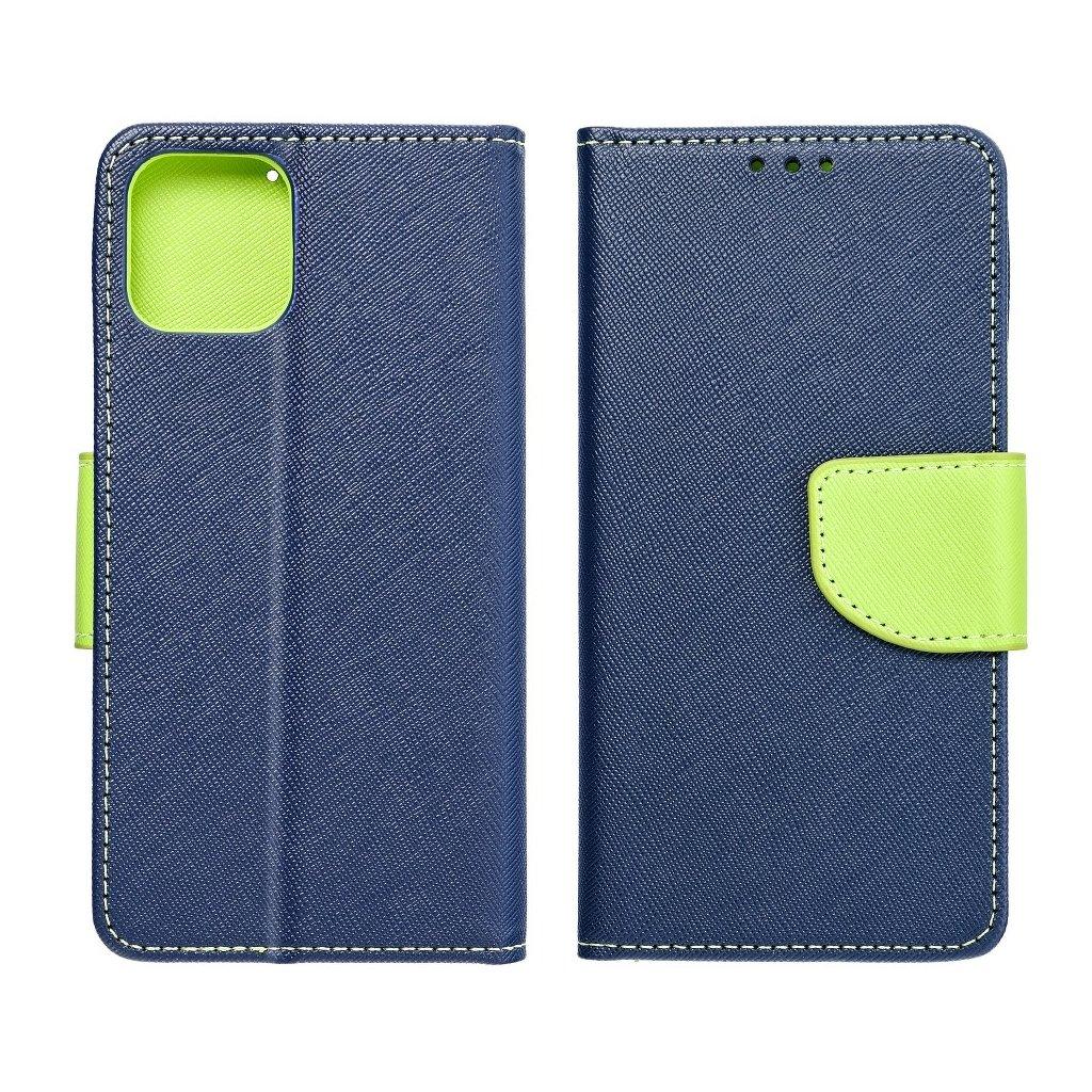 68475 fancy pouzdro book apple iphone x granatove limonka