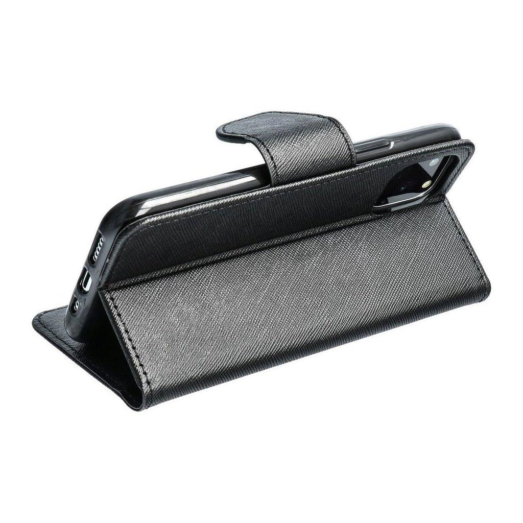 25579 fancy pouzdro book microsoft lumia 550 cerne